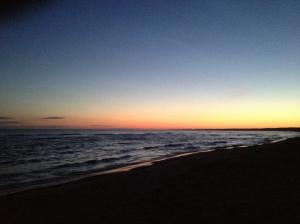 The beautiful Baltic seaside