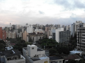 Monumental view over Porto Alegre: daytime
