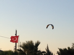 Wind-surfing in Cesme